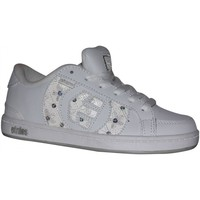 Baskets basses Etnies samples shoes  CAPITAL WHITE GREY SILVER KIDS / ENFANT