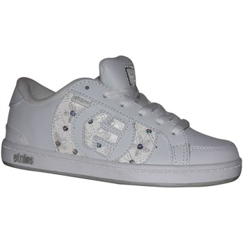 Chaussures Garçon Baskets basses Etnies samples shoes  CAPITAL WHITE GREY SILVER KIDS / ENFANT Multicolore