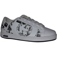 Baskets basses Etnies samples shoes  CAPTIAL WHITE BLACK PRINT KIDS / ENFANT