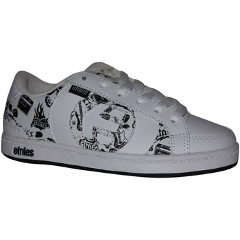 Chaussures Garçon Baskets basses Etnies samples shoes  CAPTIAL WHITE BLACK PRINT KIDS / ENFANT Multicolore