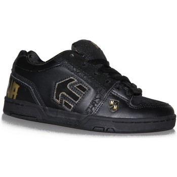 Baskets basses Etnies samples shoes  CHROME BLACK GOLD KIDS / ENFANTS