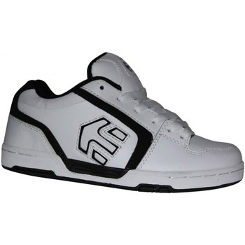 Chaussures Garçon Baskets basses Etnies samples shoes  CHROME WHITE BLACK KIDS / ENFANTS Blanc