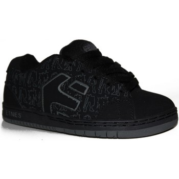 Chaussures Garçon Baskets basses Etnies samples shoes  CINCH BLACK BLACK GREY KIDS / ENFANTS Noir