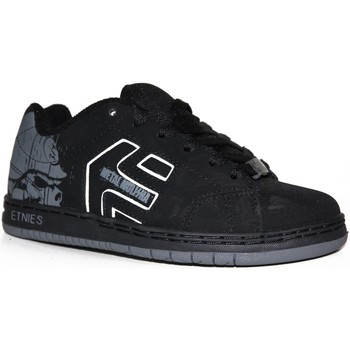 Chaussures Garçon Baskets basses Etnies samples shoes  CINCH BLACK GREY KIDS / ENFANTS Noir