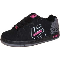 Chaussures Fille Baskets basses Etnies samples shoes  CINCH MULISHA BLACK DARK GREY KIDS / EN Noir