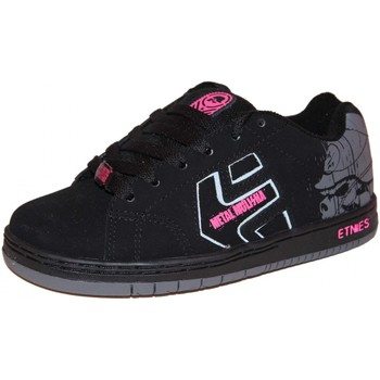Baskets basses Etnies samples shoes  CINCH MULISHA BLACK DARK GREY KIDS / EN