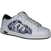 Chaussures Garçon Baskets basses Etnies samples shoes  CINCH WHITE BLACK PRINT KIDS / ENFANTS Multicolore