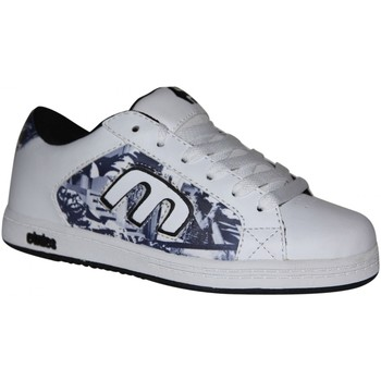 Baskets basses Etnies samples shoes  CINCH WHITE BLACK PRINT KIDS / ENFANTS