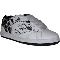 Baskets basses Etnies samples shoes  CINCH WHITE BLACK SPIDER PRINT KIDS / E
