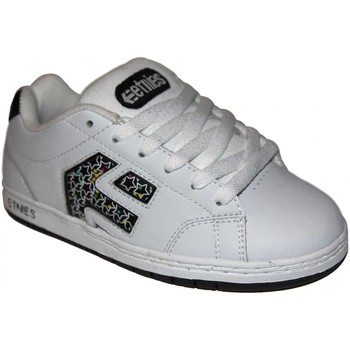 Baskets basses Etnies samples shoes  CINCH WHITE BLACK STARS KIDS / ENFANTS