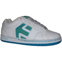 Chaussures Garçon Baskets basses Etnies samples shoes  CINCH WHITE BLUE GREEN KIDS / ENFANTS Multicolore