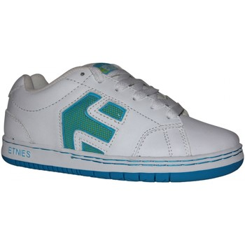 Baskets basses Etnies samples shoes  CINCH WHITE BLUE GREEN KIDS / ENFANTS