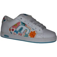Baskets basses Etnies samples shoes  CINCH WHITE BLUE KIDS / ENFANTS
