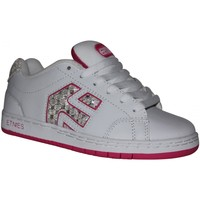 Baskets basses Etnies samples shoes  CINCH WHITE FUSHIA KIDS / ENFANTS
