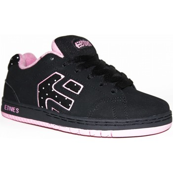 Baskets basses Etnies samples shoes  CINCH WHITE PINK BLACK KIDS / ENFANTS