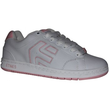 Baskets basses Etnies samples shoes  CINCH WHITE PINK WHITE WOMEN