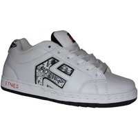 Chaussures Garçon Baskets basses Etnies samples shoes  CINCH WHITE RED LIGHT GREY KIDS / ENFAN Multicolore
