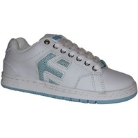 Baskets basses Etnies samples shoes  CINCH WHITE WHITE BLUE WOMEN