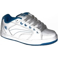 Chaussures Garçon Baskets basses Etnies samples shoes  CZAR WHITE BLUE KIDS / ENFANTS Blanc
