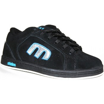 Chaussures Baskets basses Etnies samples shoes  DIGIT BLACK BLUE KIDS / ENFANTS Noir