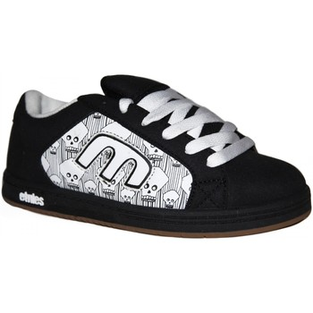 Chaussures Garçon Baskets basses Etnies samples shoes  DIGIT BLACK WHITE BLACK KIDS / ENFANTS Noir et Blanc