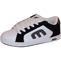 Baskets basses Etnies samples shoes  DIGIT BLACK WHITE GREY KIDS / ENFANTS