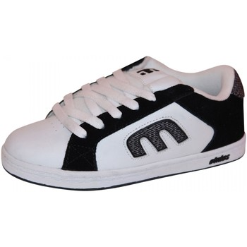Chaussures Garçon Baskets basses Etnies samples shoes  DIGIT BLACK WHITE GREY KIDS / ENFANTS Noir et Blanc