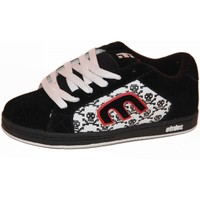 Baskets basses Etnies samples shoes  DIGIT BLACK WHITE RED KIDS / ENFANTS
