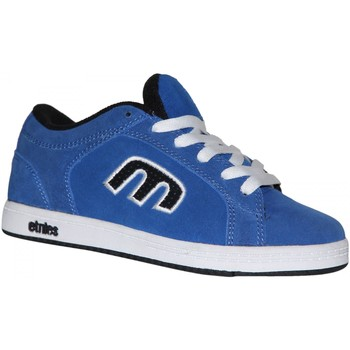 Baskets basses Etnies samples shoes  DIGIT BLUE BLACK WHITE KIDS / ENFANTS