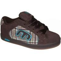 Chaussures Garçon Baskets basses Etnies samples shoes  DIGIT BROWN BLUE GUM KIDS / ENFANTS Marron