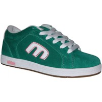 Chaussures Garçon Baskets basses Etnies samples shoes  DIGIT GREEN WHITE KIDS / ENFANTS Vert