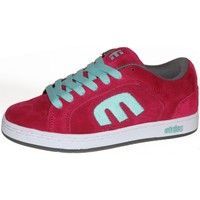 Chaussures Femme Baskets basses Etnies samples shoes  DIGIT RED WHITE GREY WOMEN Multicolore