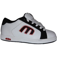 Baskets basses Etnies samples shoes  DIGIT WHITE BLACK RED KIDS / ENFANTS