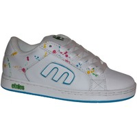 Chaussures Fille Baskets basses Etnies samples shoes  DIGIT WHITE GREEN RED WOMEN Multicolore