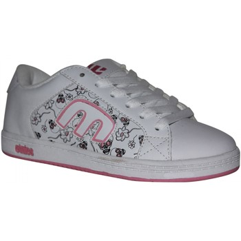 Baskets basses Etnies samples shoes  DIGIT WHITE LIGHT PINK KIDS / ENFANTS