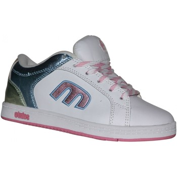 Chaussures Fille Baskets basses Etnies samples shoes  DIGIT WHITE PINK BLUE KIDS / ENFANTS Multicolore