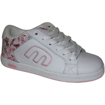 Baskets basses Etnies samples shoes  DIGIT WHITE PINK WHITE KIDS / ENFANTS