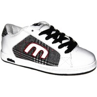 Chaussures Garçon Baskets basses Etnies samples shoes  DIGIT WHITE PLAID KIDS / ENFANTS Blanc