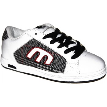 Baskets basses Etnies samples shoes  DIGIT WHITE PLAID KIDS / ENFANTS