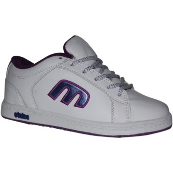 Chaussures Garçon Baskets basses Etnies samples shoes  DIGIT WHITE WHITE LAVENDER KIDS / ENFAN Blanc