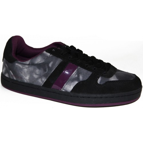 Etnies Baskets Femme samples shoes  DUBLIN BLACK PURPLE WOMEN Noir - Chaussures Baskets basses Femme