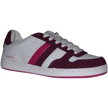 Chaussures Femme Baskets basses Etnies samples shoes  DUBLIN WHITE PINK PINK WOMEN Multicolore