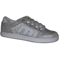 Chaussures Femme Baskets basses Etnies samples shoes  EASY E E COLLECTION WHITE GLAM WOMEN Blanc