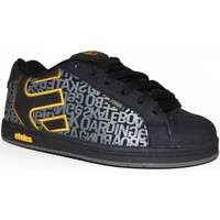 Chaussures Garçon Baskets basses Etnies samples shoes  FADER BLACK DK GREY GOLD KIDS / ENFANTS Multicolore