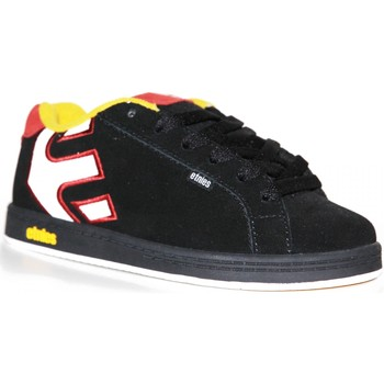 Chaussures Garçon Baskets basses Etnies samples shoes  FADER BLACK GOLD WHITE KIDS / ENFANTS Multicolore
