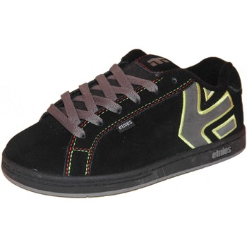 Chaussures Garçon Baskets basses Etnies samples shoes  FADER BLACK GREY RED KIDS / ENFANTS Multicolore