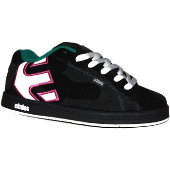 Chaussures Garçon Baskets basses Etnies samples shoes  FADER BLACK PINK GREEN KIDS / ENFANTS Noir