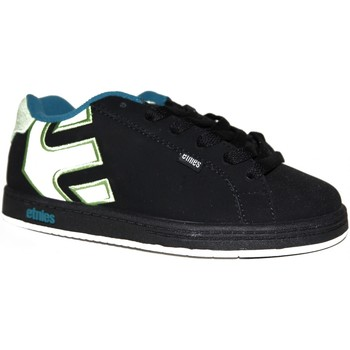 Chaussures Garçon Baskets basses Etnies samples shoes  FADER BLACK WHITE GREEN KIDS / ENFANTS Multicolore