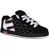 Chaussures Garçon Baskets basses Etnies samples shoes  FADER BLACK WHITE PINK KIDS / ENFANTS Multicolore