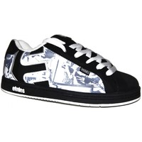 Baskets basses Etnies samples shoes  FADER BLACK WHITE PRINT KIDS / ENFANTS
